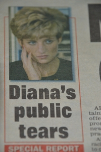 Another striking flashback. Imagine finding Princess Diana under the vinyl. I guess that's what happens after the limelight fades...even just a little.