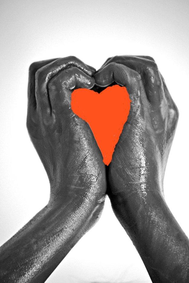 Heart Hands red heart