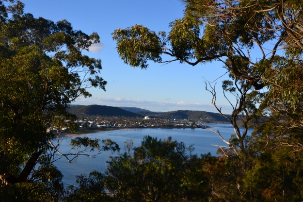 Looking towards Umina Beach, NSW.