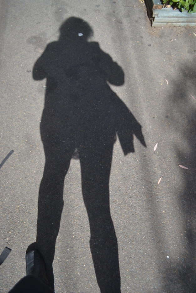 My shadow in Surry Hills