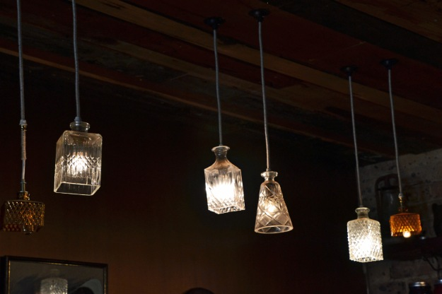 Light Fittings, Sly Cafe.