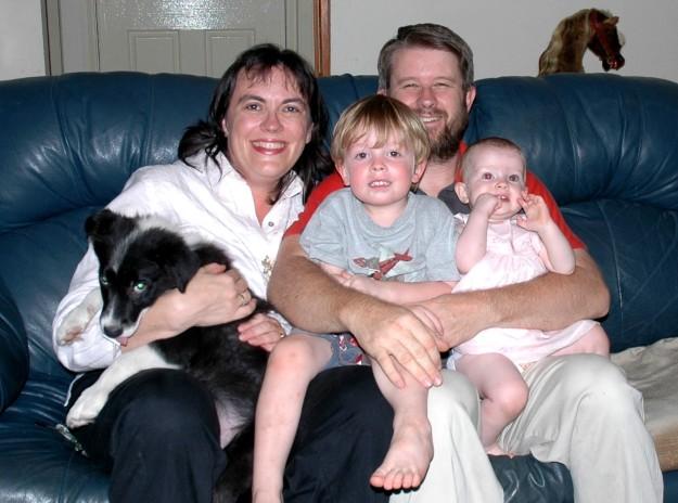 Newton Family & bilbo