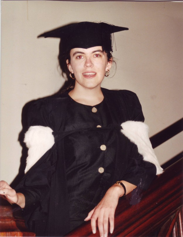 Graduation from the University of Sydney in 1992.