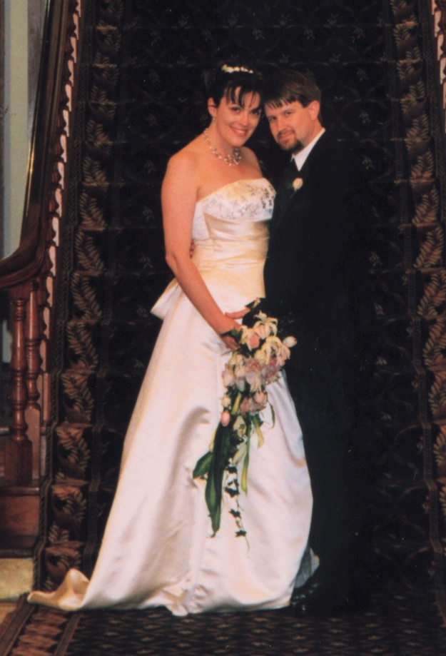Our Wedding Day....The Happiest Day of My Life. I smiled so much, my face hurt!