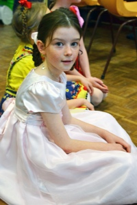 Miss as Gretal/Marta at her Musical Theatre performance in August.