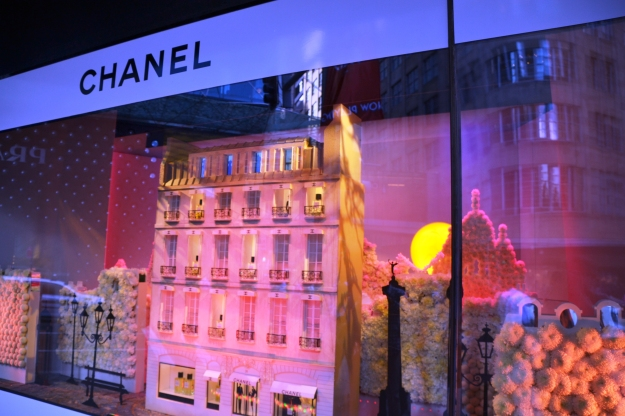 The House of Chanel comes to Sydney...look for the flowers.