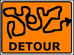 This is my kind of detour.