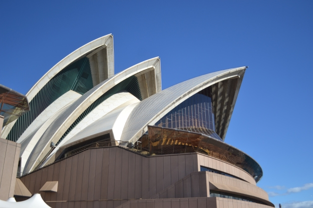 The Spectacular White Sails of the Sydney Opera House.