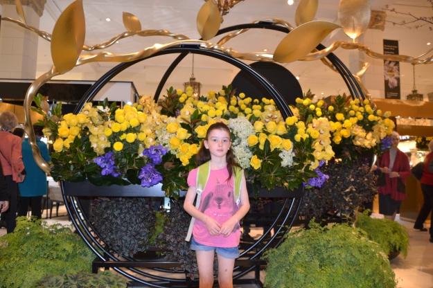 David Jones's Flower Festival