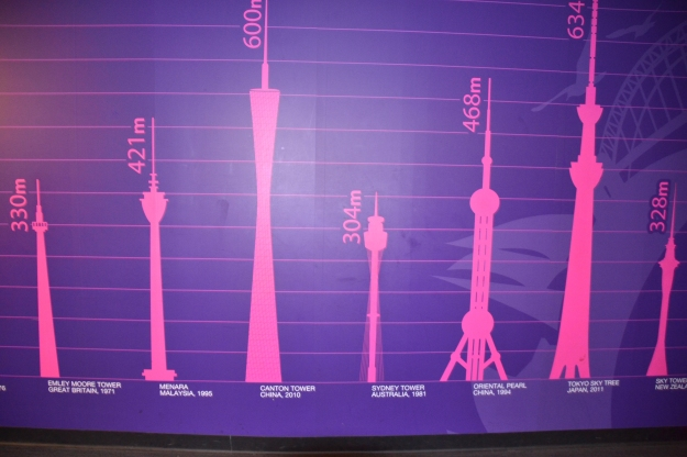 Sydney Tower might not be the tallest in the world but it overlooks the world's largest natural harbour.