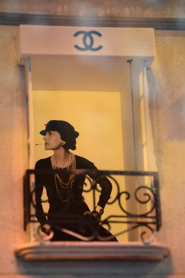 Coco Chanel at David Jones.