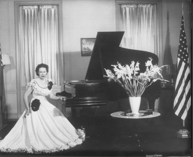 My Grandmother at the Australian Embassy in Washington, 1948.