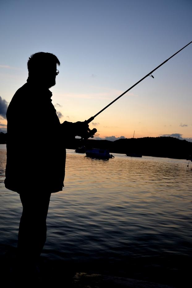 Geoff Fishing