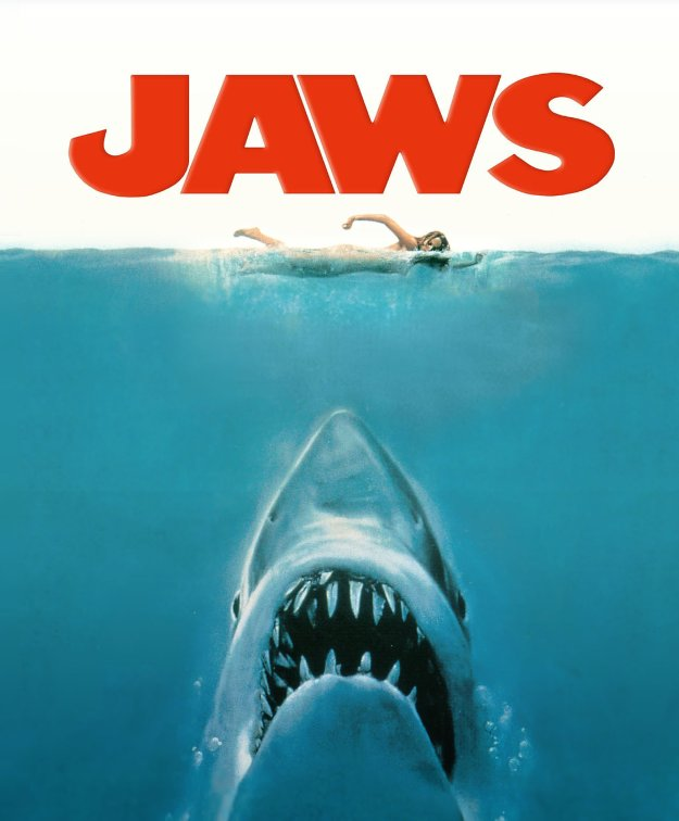 Jaws...even the theme music inspired dread.