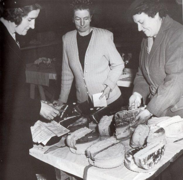 Judging Sponge Cakes 1948.