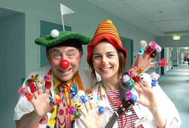 Clown Doctors. Photo: Humour Foundation.