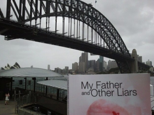 My Father & Other Liars by Geoff Le Pard decided to launch it's own book tour and couldn't wait for Geoff to visit Australia!