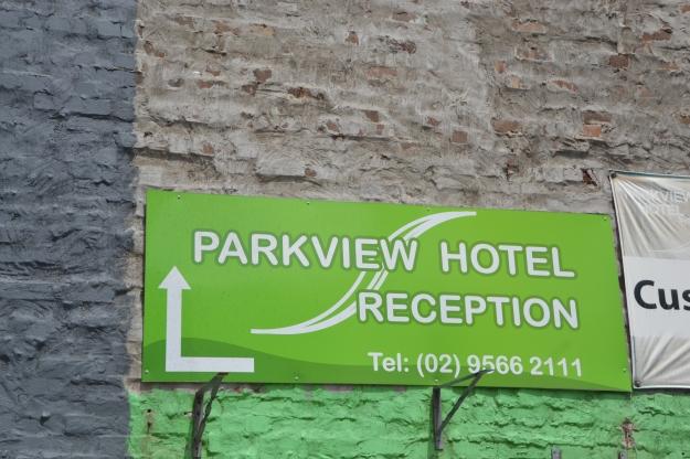 Hotel Carpark.