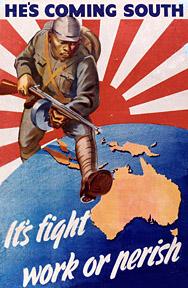 Australian War Time Poster.
