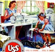 50s ironing