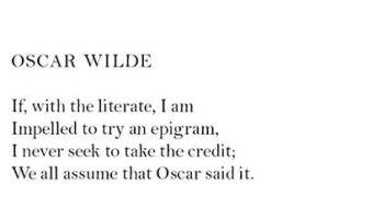 Dorothy Parker oscar-wilde