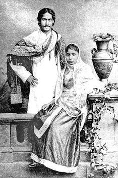 Rabindranath-Tagore-Mrinalini-Devi-1883