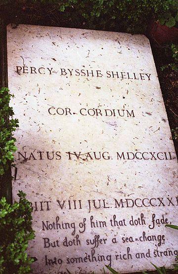 Shelleys Tombstone