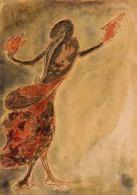 Tagore-Dancing Woman