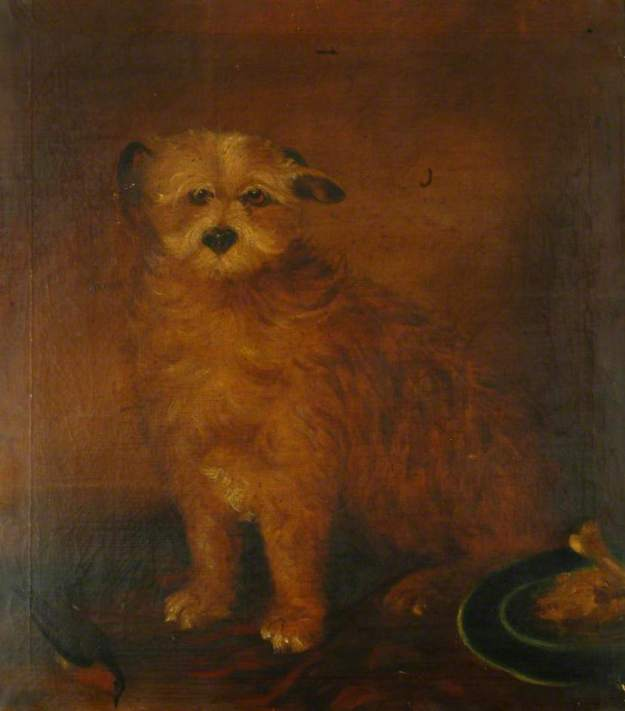 unknown artist; Wordsworth's Dog, Pepper