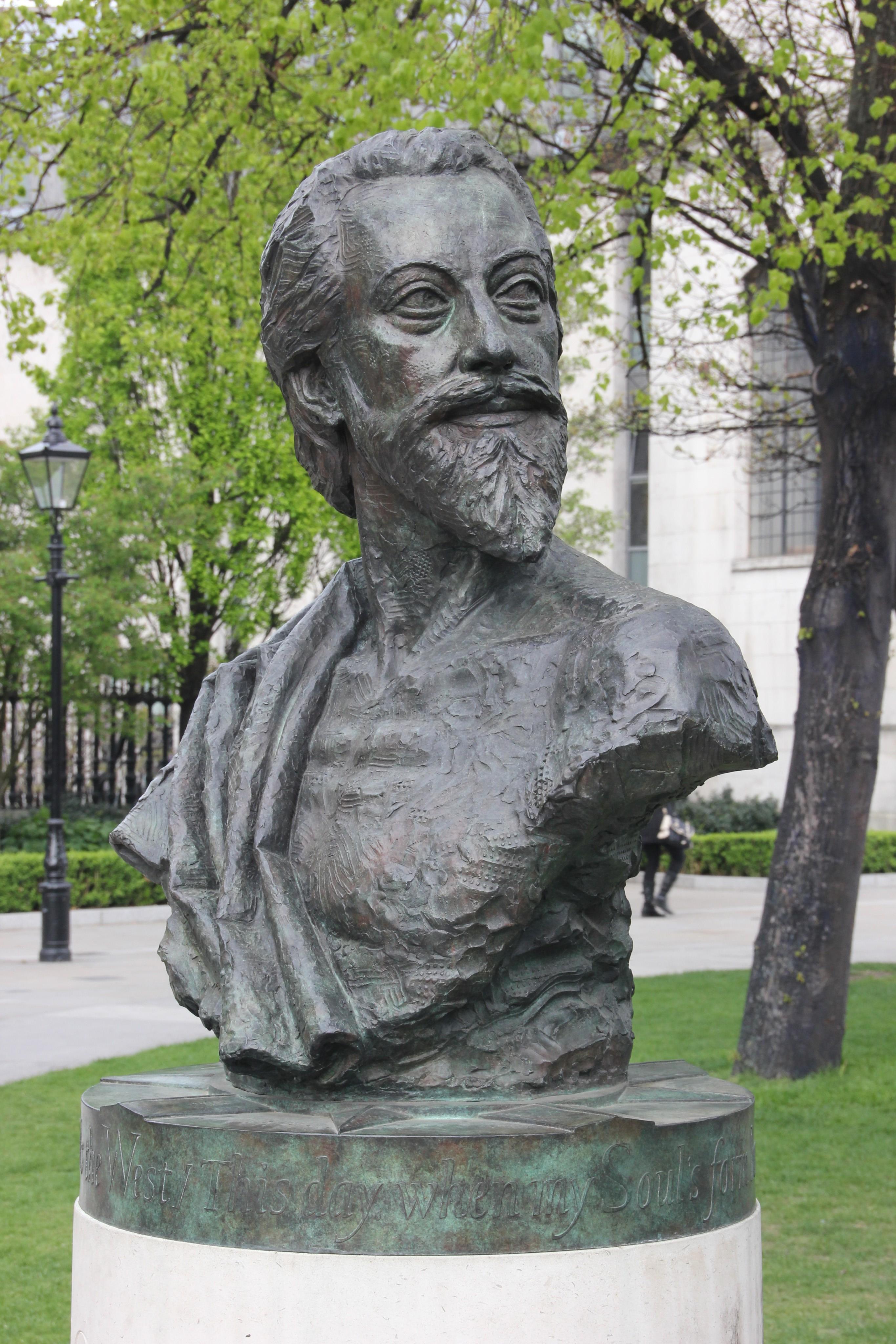 Bust of John Donne