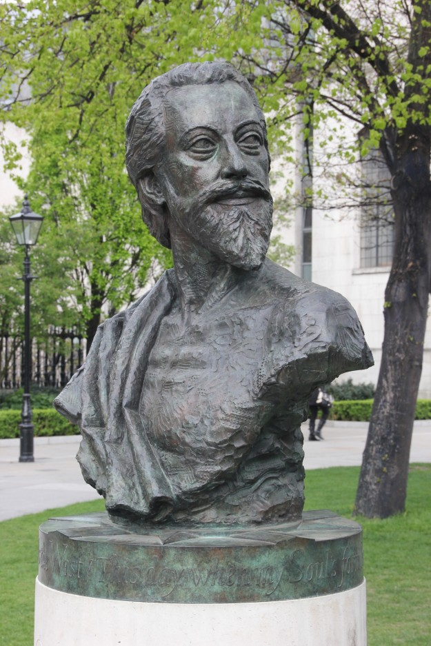 Bust of John Donne