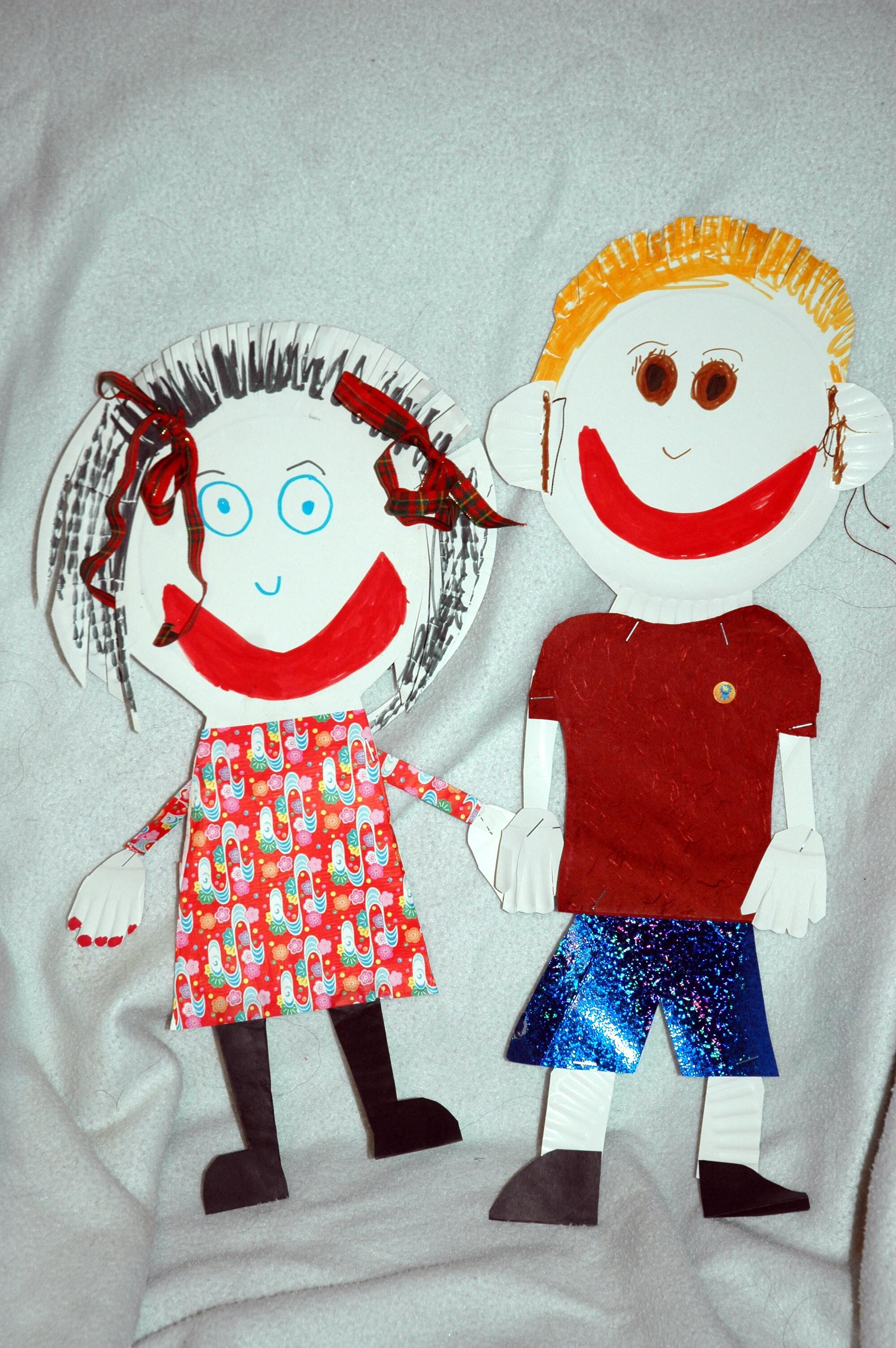 Jonathon & Amelia Cutouts