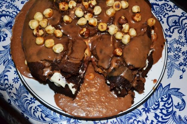 Nigella Nutella Cake