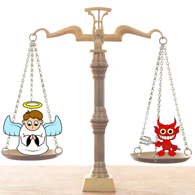 scales Good-vs-Evil-Scales