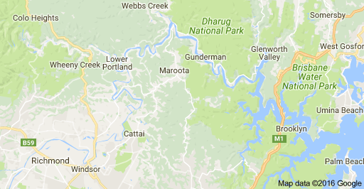 hawkesbury-river-map