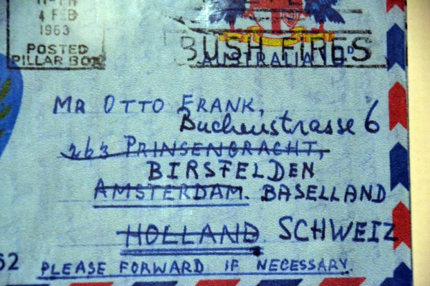 envelope-to-otto-frank