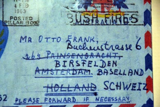 envelope-to-otto-frank