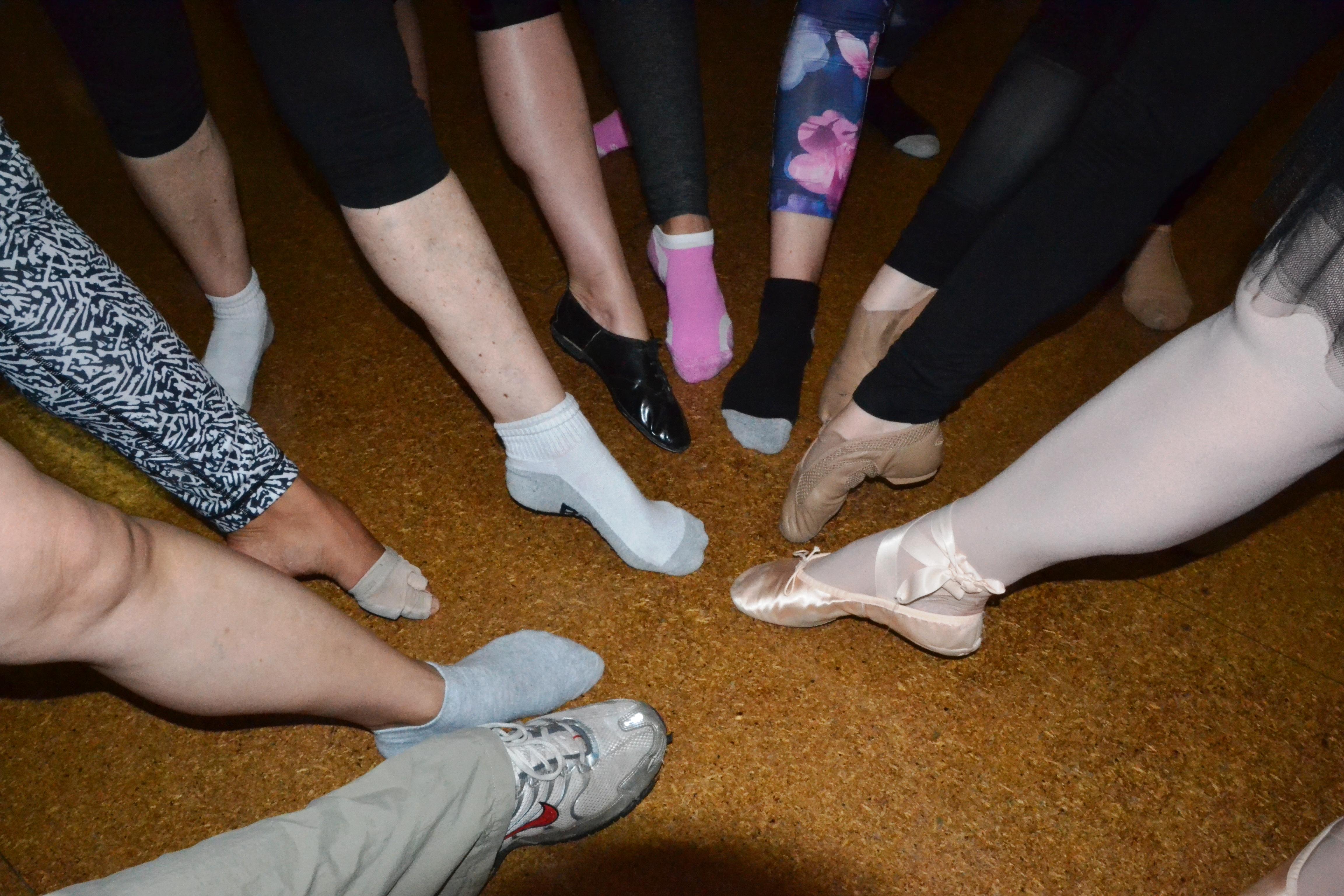 dance feet