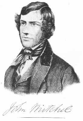 John mitchel with signature
