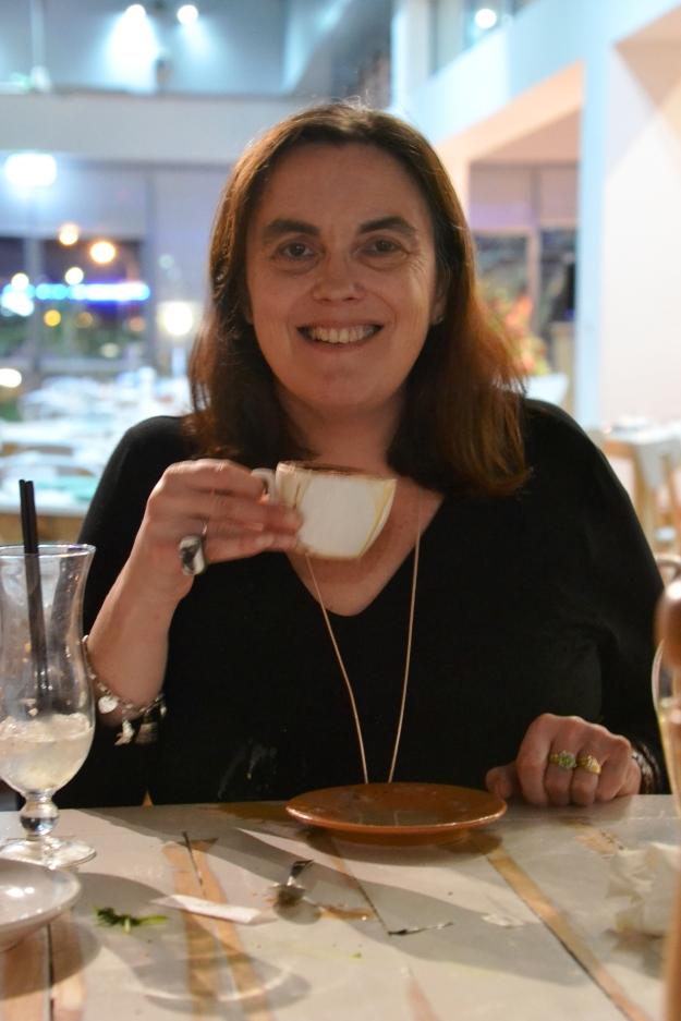 Rowena with Coffee 2