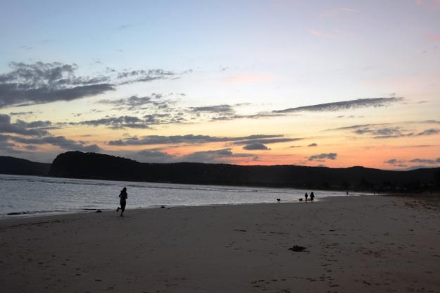 Jogger Ocean Beach