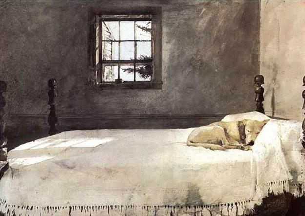 andrewwyeth-masterbedroom 1965