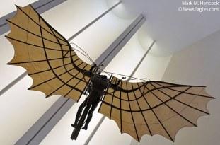 Da Vinci Flying Man