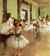 Degas The Ballet Class Musee d'Orsay
