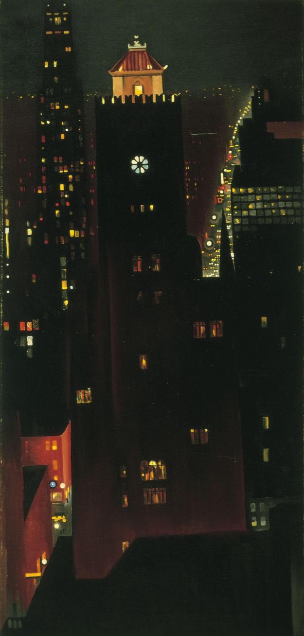 Georgia O'Keeffe New York Night
