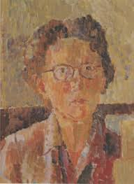 Grace Cossington Smith Self Portrait 1948