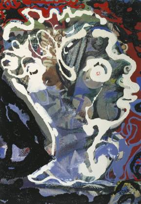 Head of Dylan Thomas 1960 Eileen Agar 1899-1991 Purchased 1962 http://www.tate.org.uk/art/work/T00492