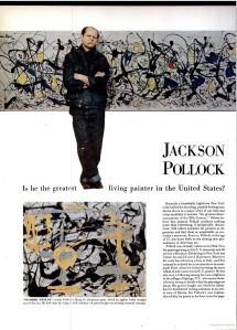 Jackson Pollock Life Magazine
