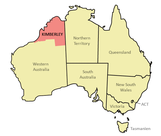 Kimberley Map