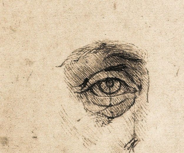 Leonardo eye drawing
